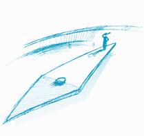 Illustration Kompassnadel