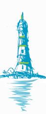 Illustration Leuchtturm klein