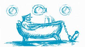 Illustration Badewannenkapitän